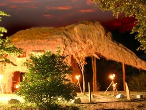 巨大な象の形のホテルで野生動物観察を楽しむ! スリランカ「Kumbuk River Resort」