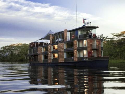 アマゾン川をクルーズする豪華客船ホテルがステキ! ペルーの「Aqua Amazon」