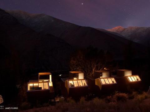 美しい星々を観測できるファンタジー系ホテル! チリ「Elqui Domos」