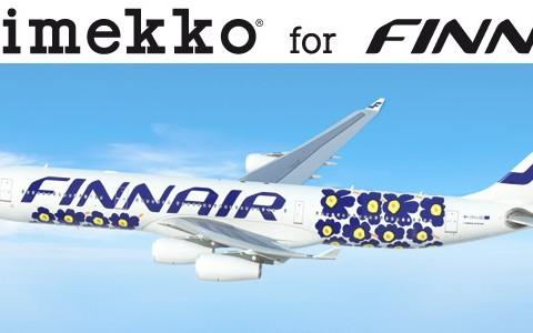 マリメッコのウニッコが日本に飛んでくる! フィンエアーのキュートな旅客機