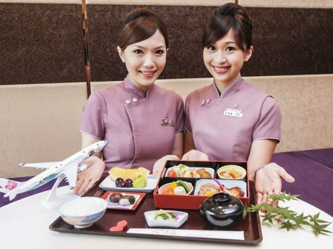 【5つ星ホテルの和食】台湾のチャイナエアラインが一流ホテルと機内食を開発!