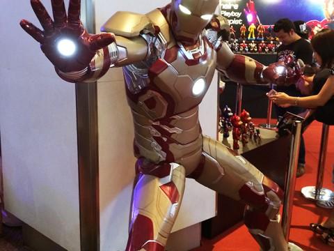 タイのバンコクでアニメや漫画のイベントThailand Comic Con 2014が開催!ガンダムもアイアンマンもあったよ