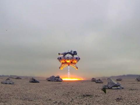 いつかは宇宙旅行!NASAが無人月面探査機の離着陸ムービーを公開