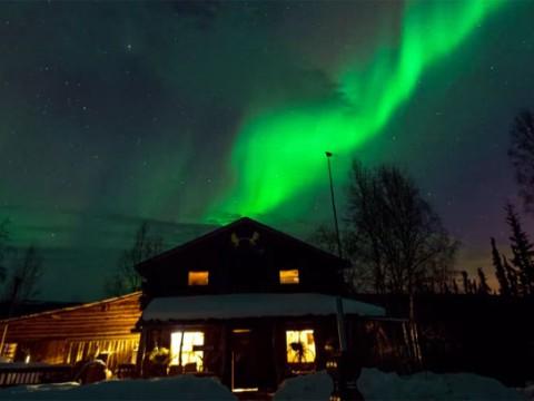 アラスカで撮影されたオーロラが素晴らしすぎる