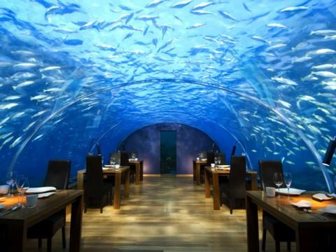 絶対に行きたい絶景レストラン!海に沈む神秘のレストランが凄い!
