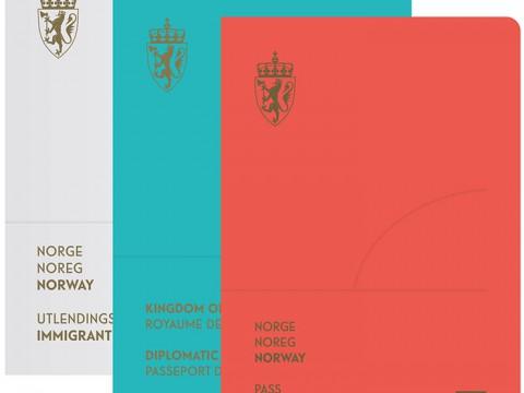 ノルウェーのパスポートが世界中から絶賛! 国のイメージをスタイリッシュにデザイン