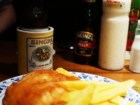 おそらくタイでいちばん美味しいフィッシュ&チップスの店 / FISH AND SHIP