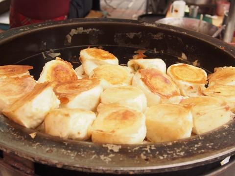 台湾でおなじみの焼き小籠包