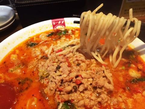 【台湾のラーメンを食べつくす男・麺王】ラーメン凪の限定ラーメン名古屋王830円 / 批評「本場の味とは思わずに楽しんで」