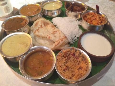 南インドを「たった一枚の皿」で堪能しよう / インド特有のミールス料理を食べよう!