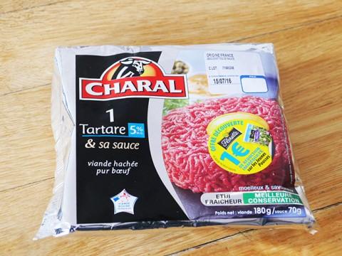 フランスに行ったらスーパーで生肉料理「タルタルステーキ」を買って食べよ!