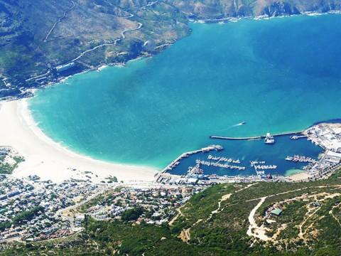 【大空の絶景】ヘリコプターでしか体験できないテーブルマウンテンの姿 / 南アフリカ・ケープタウン