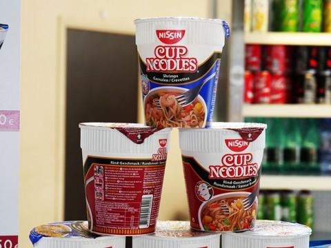 海外で急に日本の味が食べたくなったらカップヌードル