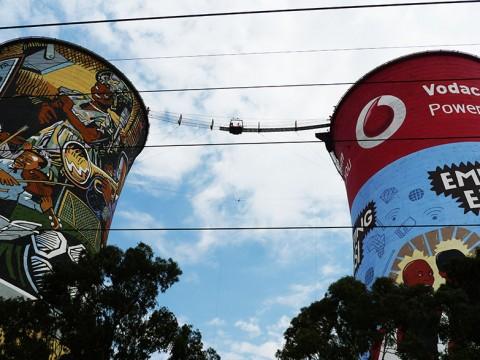 【衝撃】発電所をバンジージャンプにしてしまった南アフリカ人の凄い発想力(笑)