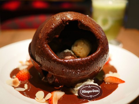 ハーゲンダッツの「チョコレート爆弾」は甘美で魅惑な極上スイーツ