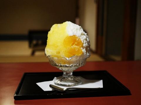 京都でもっとも有名で伝統的な絶品カキ氷 / ぎをん小森