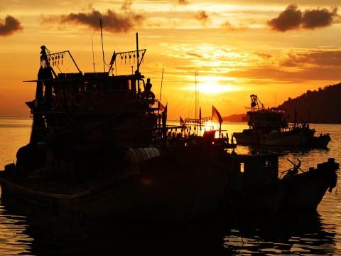 コタキナバルの海は年々変化していく! 毎年行って見比べると面白い