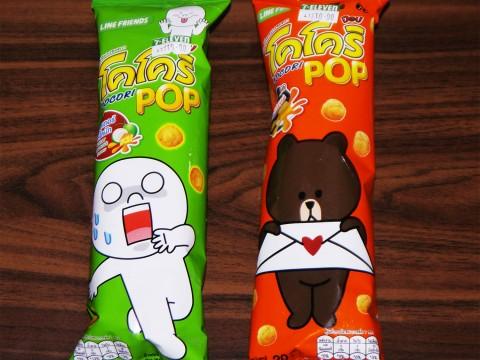 タイではLINEのお菓子が大人気 / 子どもも大人もおねーさんも大好き