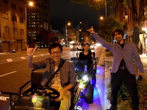 【関西】大阪がアトラクション! ミニカーに乗って通天閣やアメリカ村を巡る観光ツアーが登場でんがなまんがな~!