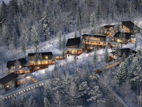 【超絶景】雪景色を眺めながら食事や買い物を堪能! 星野リゾートトマムに日本初のスキーインスキーアウトヴィレッジ誕生