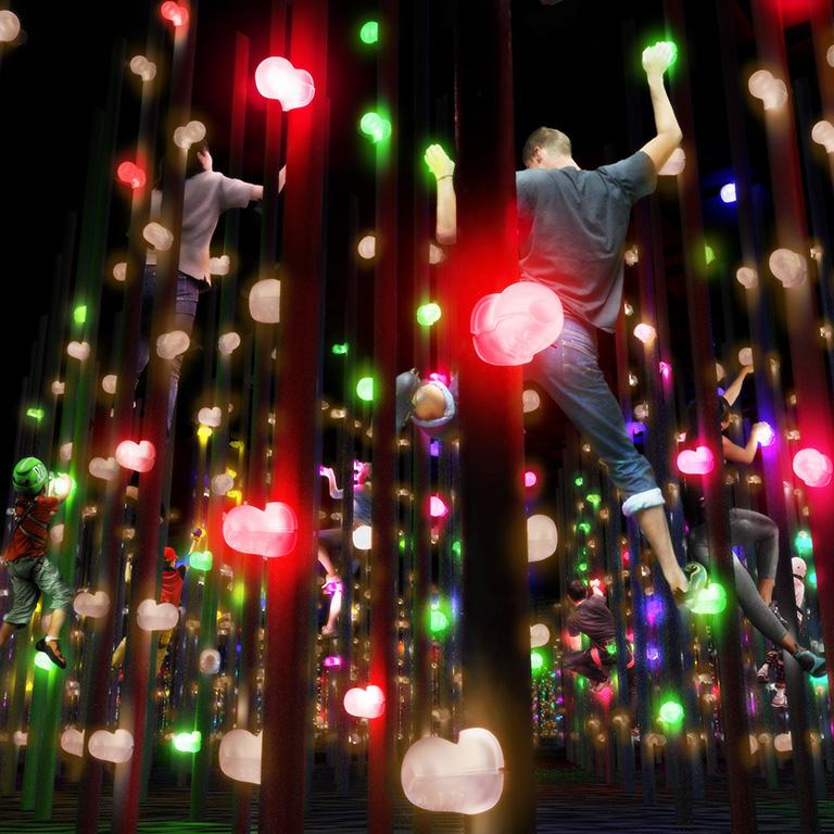 Threedimensional Light Bouldering_Square