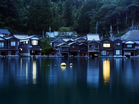 【絶景】京都の隠されし絶景地「伊根町の舟宿」に感動する旅 / 絶品なる魚介と絶景なる港町