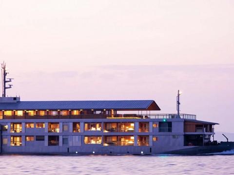 【魅惑旅】おそらく日本最高峰の小型豪華客船ガンツウ / 1泊40万円から「船内に寿司屋も完備」