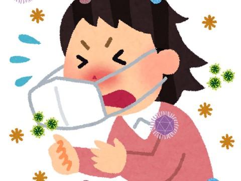【常識】クシャミや咳をしても手で口を覆ってはならない / ヨーロッパでは常識