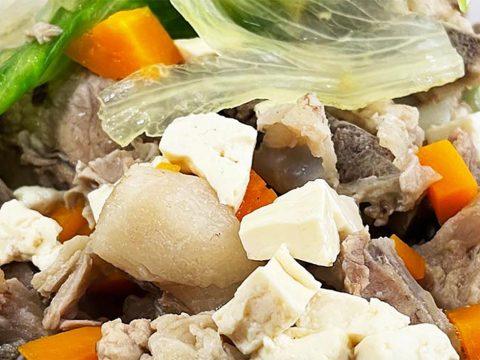 【秘密グルメ】沖縄の住宅街の肉屋で食べられる「骨汁」が実にウマイのだよ! お肉の店 仲村